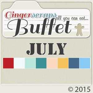 July 2015 Buffet- 50% off!