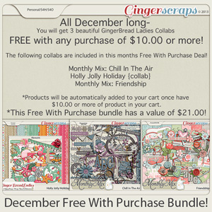December Free With Purchase