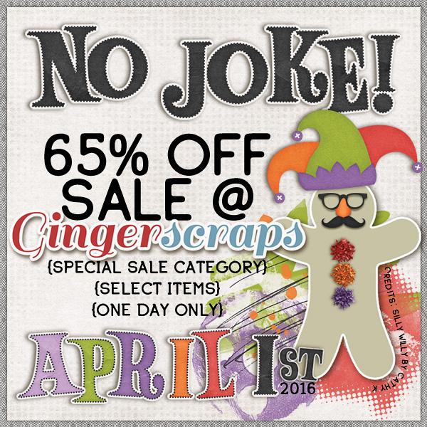 No Joke Sale