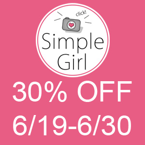Simple Girl Scraps 30% off!
