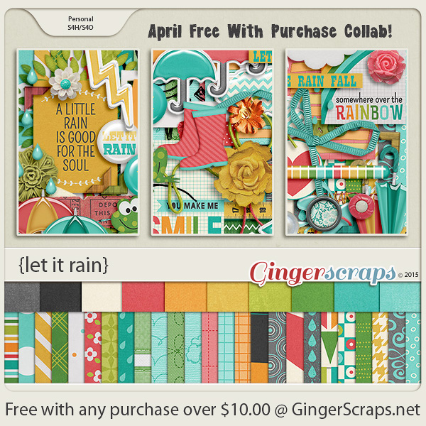 April 2015 Free With Purchase!