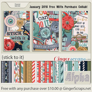 January 2018 Free With Purchase!