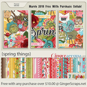 March 2018 Free With Purchase!