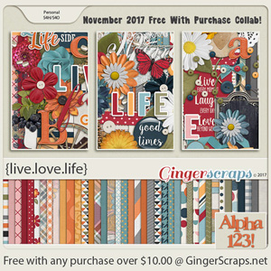 November 2017 Free With Purchase!