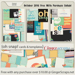 October 2016 Free With Purchase!