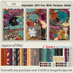 September 2017 Free With Purchase!