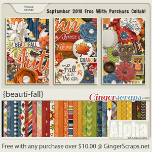 September 2018 Free With Purchase!
