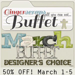 March Buffet 50% off!