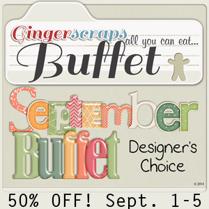 September Buffet 50% off!