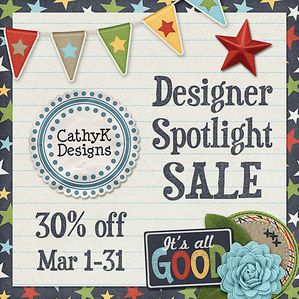 CathyK Designs 30% Off