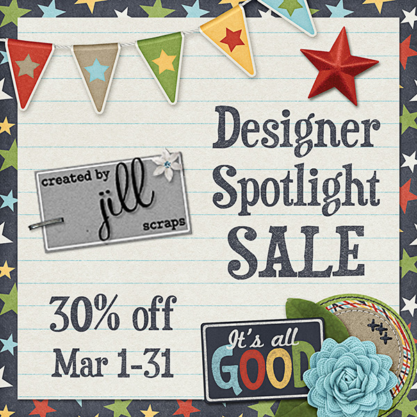 Created by Jill Scraps 30% Off