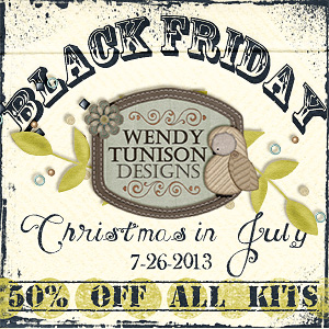 Wendy Tunison 50% Off!