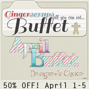 April Buffet 50% off!