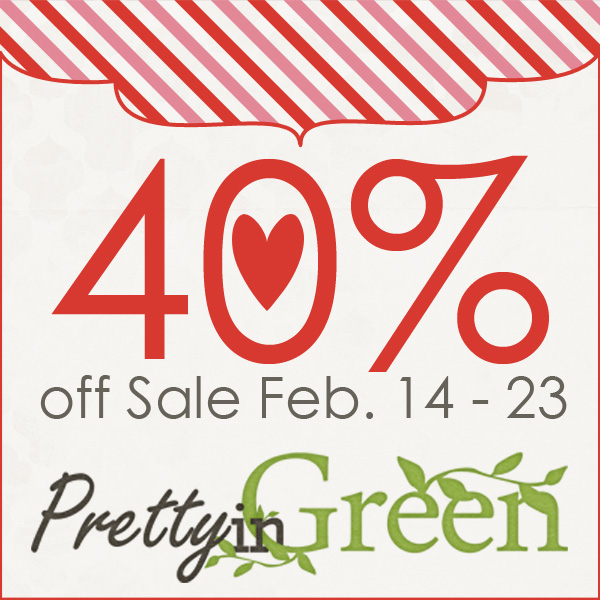 Pretty in Green 40% Off!