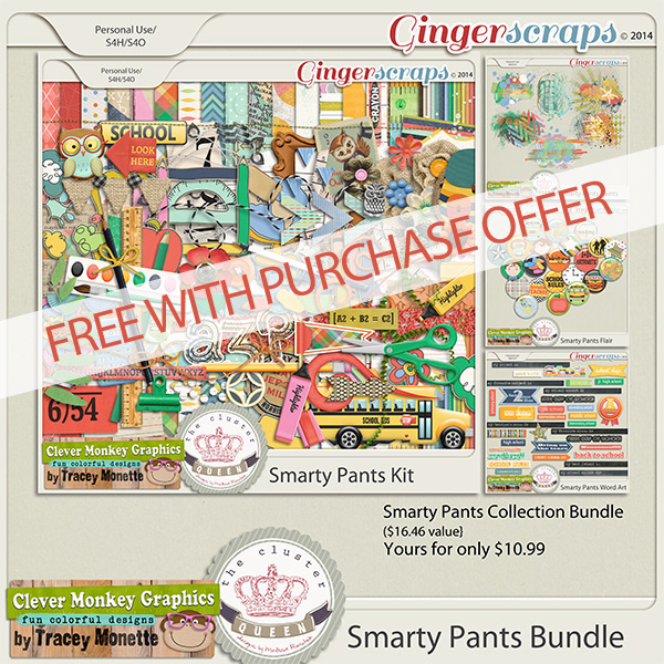 FWP Offer with purchase of Smarty Pants Bundle