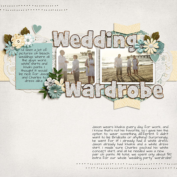 Created by hclappy. I love the two spaces of journaling. It gives so much insight into the significance of the pictures!