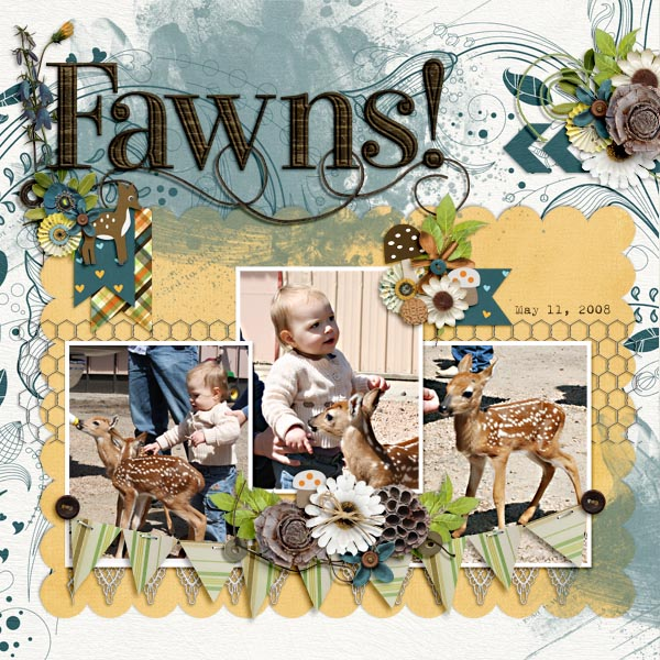 Created by Colleen. Such cute and sweet pictures, and the perfect choice for the kit, as well :D