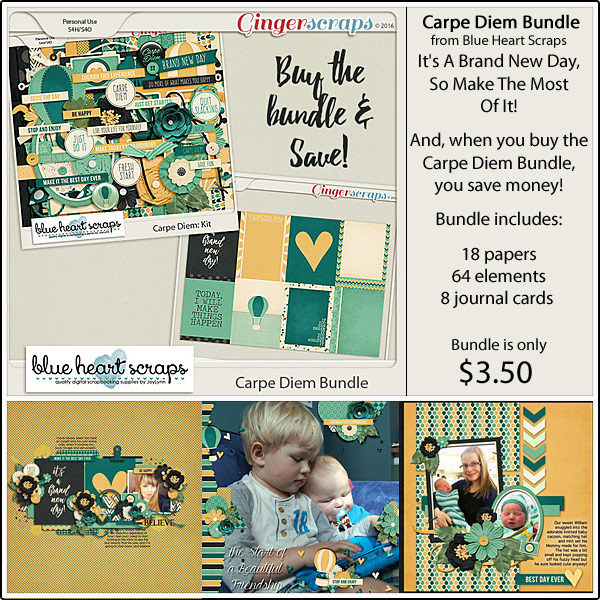 Bundle: http://store.gingerscraps.net/Carpe-Diem-Bundle.html Kit: http://store.gingerscraps.net/Carpe-Diem-Kit.html Journal Cards: http://store.gingerscraps.net/Carpe-Diem-Journal-Cards.html