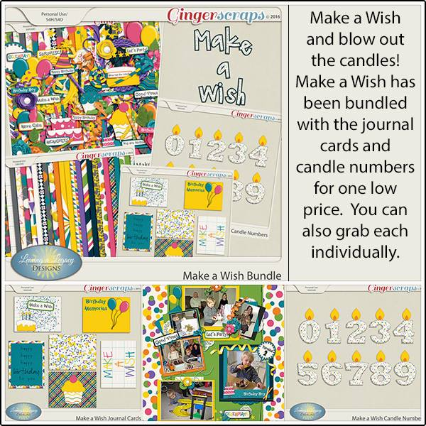 Bundle: http://store.gingerscraps.net/Make-a-Wish-Bundle.html Candle Numbers: http://store.gingerscraps.net/Make-a-Wish-Candle-Numbers.html Journal Cards: http://store.gingerscraps.net/Make-a-Wish-Journal-Cards.html Kit: http://store.gingerscraps.net/Make-a-Wish-LLD.html