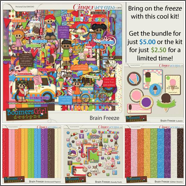 Bundle: http://store.gingerscraps.net/Brain-Freeze-Bundle-by-BoomersGirl-Designs.html Kit: http://store.gingerscraps.net/Brain-Freeze.html