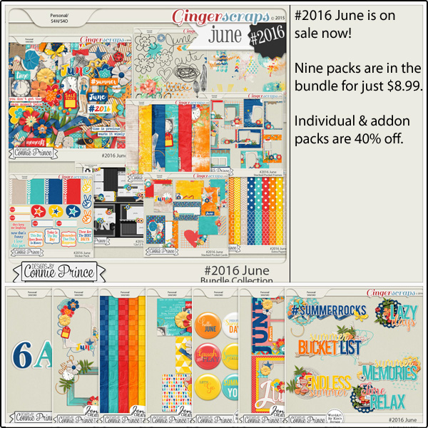 Bundle Collection: http://store.gingerscraps.net/-2016-June-Bundle-Collection.html Kit: http://store.gingerscraps.net/-2016-June-Kit.html Doodles and Stamps: http://store.gingerscraps.net/-2016-June-Doodles-and-Stamps.html Inked Bits: http://store.gingerscraps.net/-2016-June-Inked-Bits.html Messy Papers: http://store.gingerscraps.net/-2016-June-Messy-Papers.html Stacked Pocket Cards: http://store.gingerscraps.net/-2016-June-Stacked-Pocket-Cards.html Stacked Pocket Frames: http://store.gingerscraps.net/-2016-June-Stacked-Pocket-Frames.html Sticker Pack: http://store.gingerscraps.net/-2016-June-Sticker-Pack.html Templates: http://store.gingerscraps.net/-2016-June-12x12-Template-Pack-CU-Ok.html Extra Papers: http://store.gingerscraps.net/-2016-June-Extra-Papers.html Alpha Pack AddOn: http://store.gingerscraps.net/-2016-June-Alpha-Pack-AddOn.html Word Art Pack: http://store.gingerscraps.net/-2016-June-Word-Art-Pack.html Flair Pack: http://store.gingerscraps.net/-2016-June-Flair-Pack.html Quick Pages: http://store.gingerscraps.net/-2016-June-Quick-Pages.html Cluster Pack: http://store.gingerscraps.net/-2016-June-Cluster-Pack.html Facebook Timeline Covers: http://store.gingerscraps.net/-2016-June-Facebook-Timeline-Covers.html Embossed Papers: http://store.gingerscraps.net/-2016-June-Embossed-Papers.html