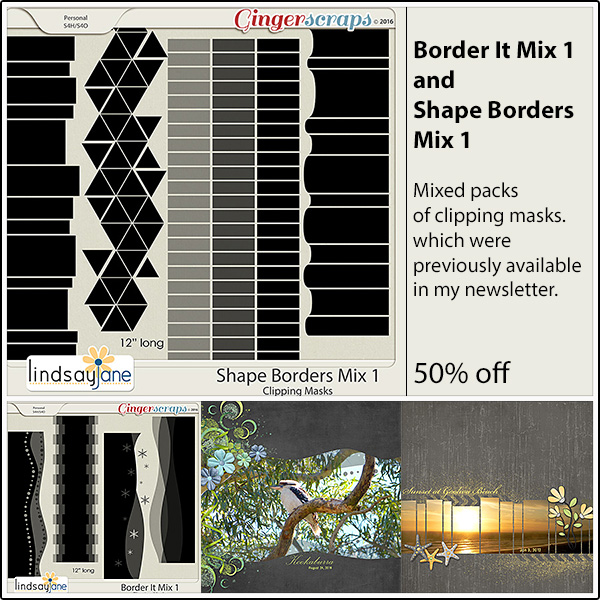 Border It Mix: http://store.gingerscraps.net/Border-It-Mix-1-by-Lindsay-Jane.html Shape Borders Mix: http://store.gingerscraps.net/Shape-Borders-Mix-1-by-Lindsay-Jane.html