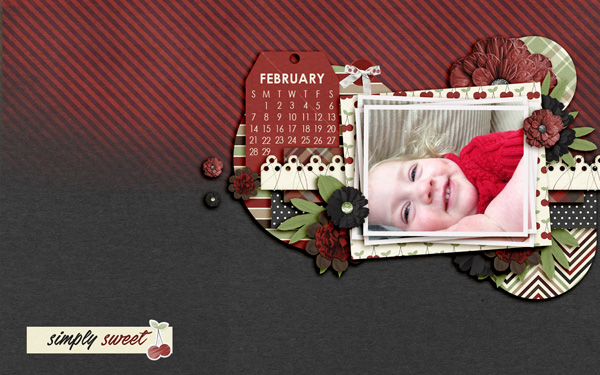 Created by Lmsandt. I just love the picture and the colors from it are a perfect match for the kit choice!