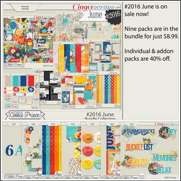 Bundle Collection: https://store.gingerscraps.net/-2016-June-Bundle-Collection.html Kit: https://store.gingerscraps.net/-2016-June-Kit.html Doodles and Stamps: https://store.gingerscraps.net/-2016-June-Doodles-and-Stamps.html Inked Bits: https://store.gingerscraps.net/-2016-June-Inked-Bits.html Messy Papers: https://store.gingerscraps.net/-2016-June-Messy-Papers.html Stacked Pocket Cards: https://store.gingerscraps.net/-2016-June-Stacked-Pocket-Cards.html Stacked Pocket Frames: https://store.gingerscraps.net/-2016-June-Stacked-Pocket-Frames.html Sticker Pack: https://store.gingerscraps.net/-2016-June-Sticker-Pack.html Templates: https://store.gingerscraps.net/-2016-June-12x12-Template-Pack-CU-Ok.html Extra Papers: https://store.gingerscraps.net/-2016-June-Extra-Papers.html Alpha Pack AddOn: https://store.gingerscraps.net/-2016-June-Alpha-Pack-AddOn.html Word Art Pack: https://store.gingerscraps.net/-2016-June-Word-Art-Pack.html Flair Pack: https://store.gingerscraps.net/-2016-June-Flair-Pack.html Quick Pages: https://store.gingerscraps.net/-2016-June-Quick-Pages.html Cluster Pack: https://store.gingerscraps.net/-2016-June-Cluster-Pack.html Facebook Timeline Covers: https://store.gingerscraps.net/-2016-June-Facebook-Timeline-Covers.html Embossed Papers: https://store.gingerscraps.net/-2016-June-Embossed-Papers.html