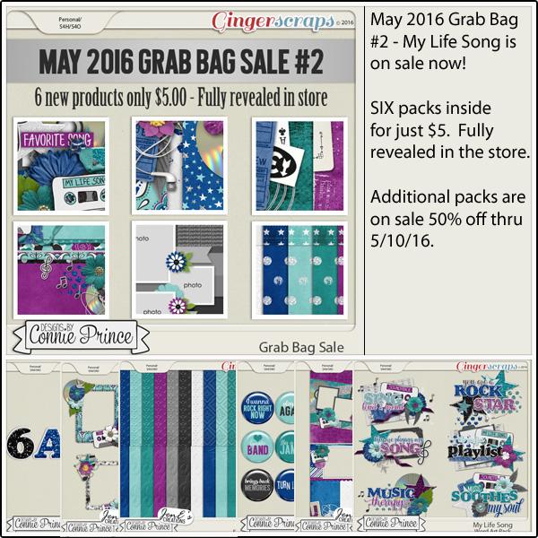Grab Bag: https://store.gingerscraps.net/May-2016-Grab-Bag-2-My-Life-Song.html WordArt Pack: https://store.gingerscraps.net/My-Life-Song-WordArt-Pack.html Flair Pack: https://store.gingerscraps.net/My-Life-Song-Flair-Pack.html Alpha Pack AddOn: https://store.gingerscraps.net/My-Life-Song-Alpha-Pack-AddOn.html Cluster Pack: https://store.gingerscraps.net/My-Life-Song-Cluster-Pack.html Embossed Papers: https://store.gingerscraps.net/My-Life-Song-Embossed-Papers.html Quick Pages: https://store.gingerscraps.net/My-Life-Song-Quick-Pages.html
