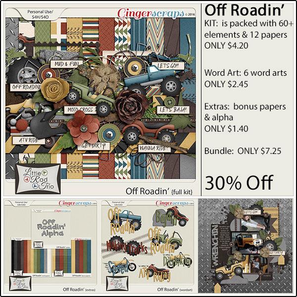 Kit: https://store.gingerscraps.net/Off-Roadin-Full-Kit.html Word Art: https://store.gingerscraps.net/Off-Roadin-Word-Art.html Extras: https://store.gingerscraps.net/Off-Roadin-Extras.html Bundle: https://store.gingerscraps.net/Off-Roadin-Bundle.html