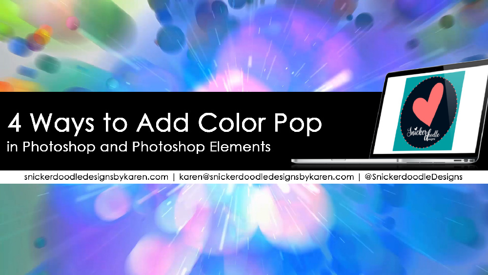 4 ways to add color pop to your digital scrapbook pages Snickerdoodle Designs