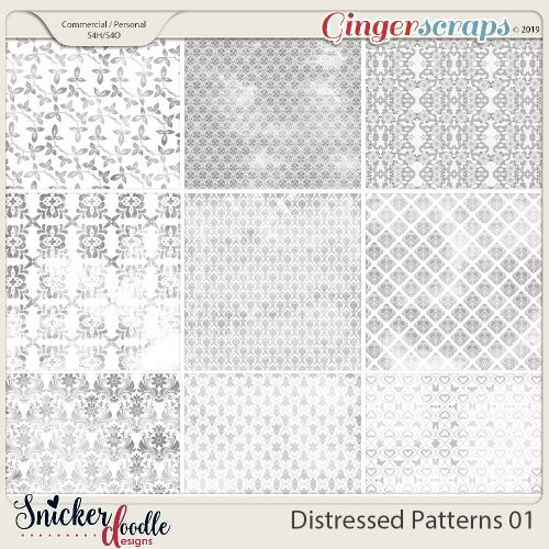 How to use Distressed Patterns and a Freebie