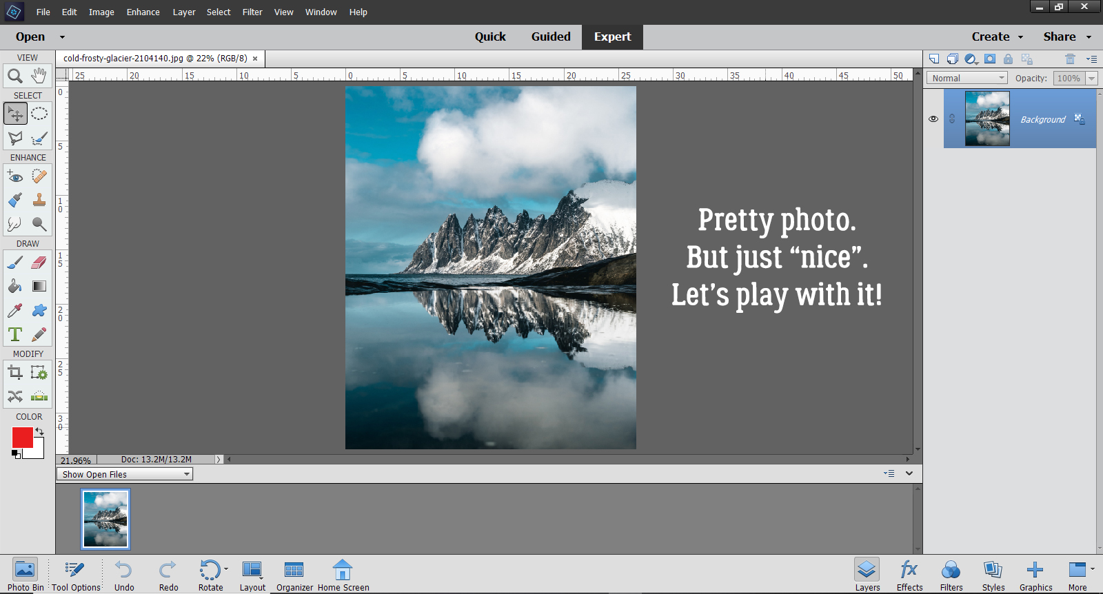 Tutorial Tuesday (Photoshop Elements)